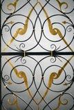 O detalhe do portal feito velho Imagem de Stock Royalty Free