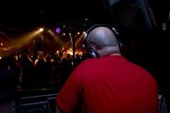 O deus é um DJ Imagens de Stock