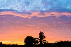 O dia da manhã refrigera os dias do sol foto de stock royalty free