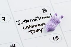 O dia da mulher internacional Fotos de Stock Royalty Free