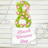 O dia da mulher internacional Eps 10 Fotografia de Stock