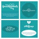 O dia das avós Fotos de Stock Royalty Free