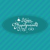 O dia das avós Fotografia de Stock Royalty Free