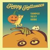 O Dia das Bruxas feliz Imagem de Stock Royalty Free