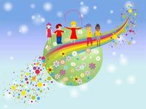 O dia das crianças Imagem de Stock Royalty Free