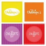 O dia das crianças Fotos de Stock Royalty Free