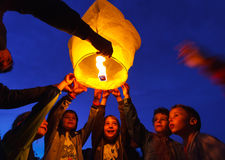 O dia das crianças internacionais Fotografia de Stock Royalty Free