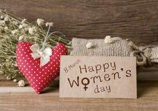 O dia das mulheres felizes Fotografia de Stock