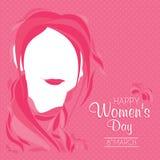 O dia das mulheres internacionais Fotografia de Stock Royalty Free