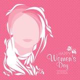 O dia das mulheres internacionais Imagens de Stock