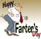 O dia de Farter feliz Imagem de Stock Royalty Free