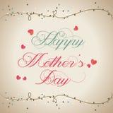 O dia de mãe Imagem de Stock Royalty Free