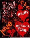 O dia de mãe ilustração stock