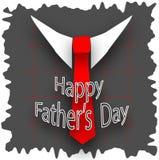 O dia de pai feliz Fotos de Stock Royalty Free