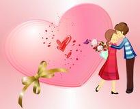 O dia de Valentim Foto de Stock