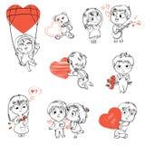 O dia de Valentim Foto de Stock Royalty Free