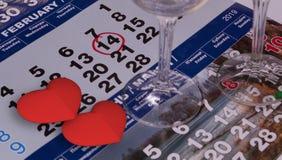 O dia de Valentim do St é um feriado para dois imagem de stock