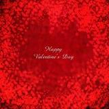 O dia de Valentim dos corações do voo ou o fundo do casamento Imagem de Stock