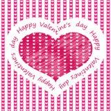 O dia de Valentim feliz! 09 ilustração do vetor