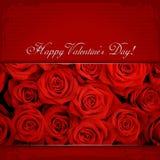 O dia de Valentim feliz Foto de Stock