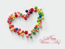 O dia de Valentim feliz #02 Imagens de Stock