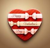 O dia de Valentim feliz! ilustração royalty free