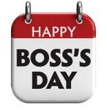 O dia do chefe feliz Imagem de Stock Royalty Free