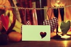 O dia do ` s do Valentim candles o vinho fotos de stock royalty free