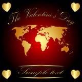 O dia do Valentim Foto de Stock