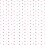 O dia e o coração cor-de-rosa de Valentim isolados no fundo branco Feriado do vetor e fundo cor-de-rosa do coração Fotografia de Stock Royalty Free