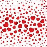 O dia e os amantes de Valentim isolados no fundo branco O meu coração de Valentim o dia e no fundo branco Imagens de Stock Royalty Free