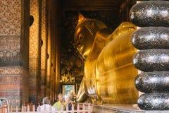 O dia em Banguecoque, Tailândia, Wat Po Temple Imagem de Stock
