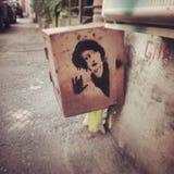 o dia o mais #bucharest romania da caminhada da arte da rua Fotos de Stock Royalty Free