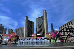 O dia o mais quente em Toronto foto de stock