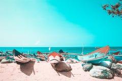 O dia observa o fundo da praia de Drini imagens de stock royalty free