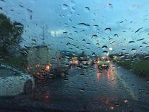 O dia rainny Fotos de Stock Royalty Free
