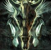 O diabo três Ilustração do Vetor