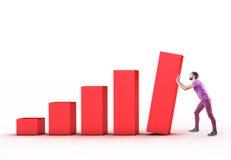 O diagrama Imagens de Stock