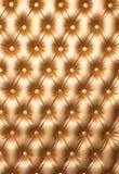 O diamante costurou a mobília de couro para o fundo ou a textura Imagem de Stock Royalty Free