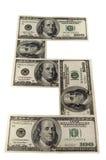 O dinheiro de papel Imagem de Stock