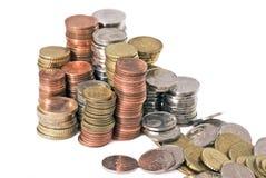 O dinheiro desaparece Fotografia de Stock Royalty Free