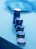 O dinheiro disparou em 2 Foto de Stock