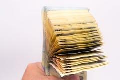 O dinheiro fala Fotografia de Stock Royalty Free