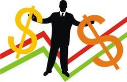 O dinheiro grande Fotografia de Stock