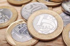 O dinheiro inventa o brasileiro Foto de Stock Royalty Free