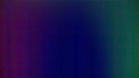 O diodo emissor de luz ilumina-se do painel da visualização ótica de monitor do computador para o molde gráfico do Web site proje imagens de stock