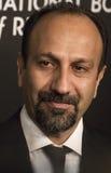 O diretor iraniano Asghar Farhadi Scores em NBR concede a gala Fotografia de Stock