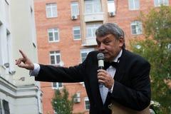 O diretor Sergei Kazarnovskii da escola Imagens de Stock Royalty Free