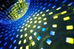 O disco ilumina o fundo Imagem de Stock