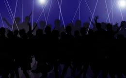 O disco relaxa Imagens de Stock Royalty Free